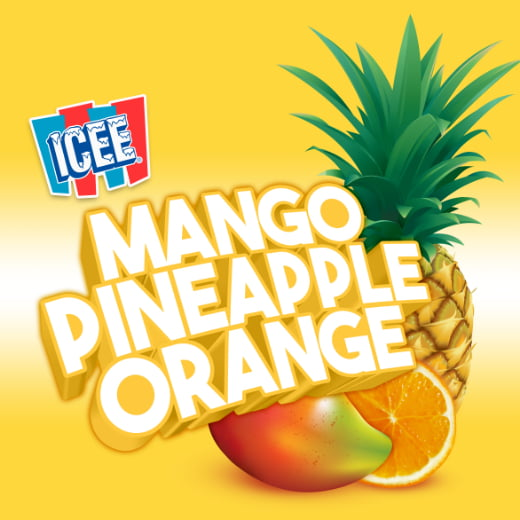 ICEE Flavor Mango Pineapple Orange