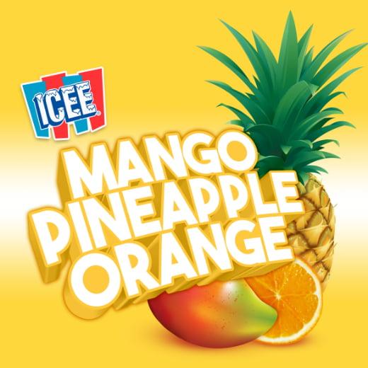 ICEE Flavor Mango Pineapple Orange
