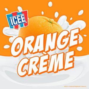 ICEE Flavor Orange Crème