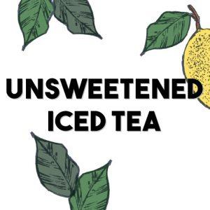 ICEE Flavor Unsweetened Iced Tea Bubbler
